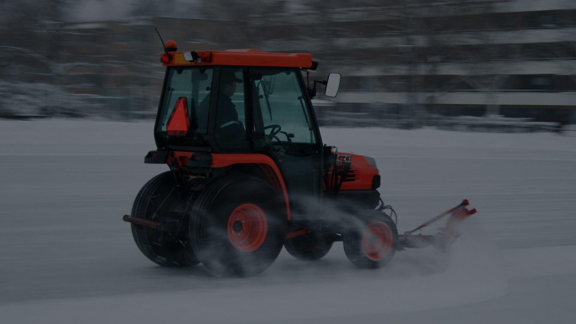 Für den Winterdienst ist vor allem das Schneeräumen wichtig