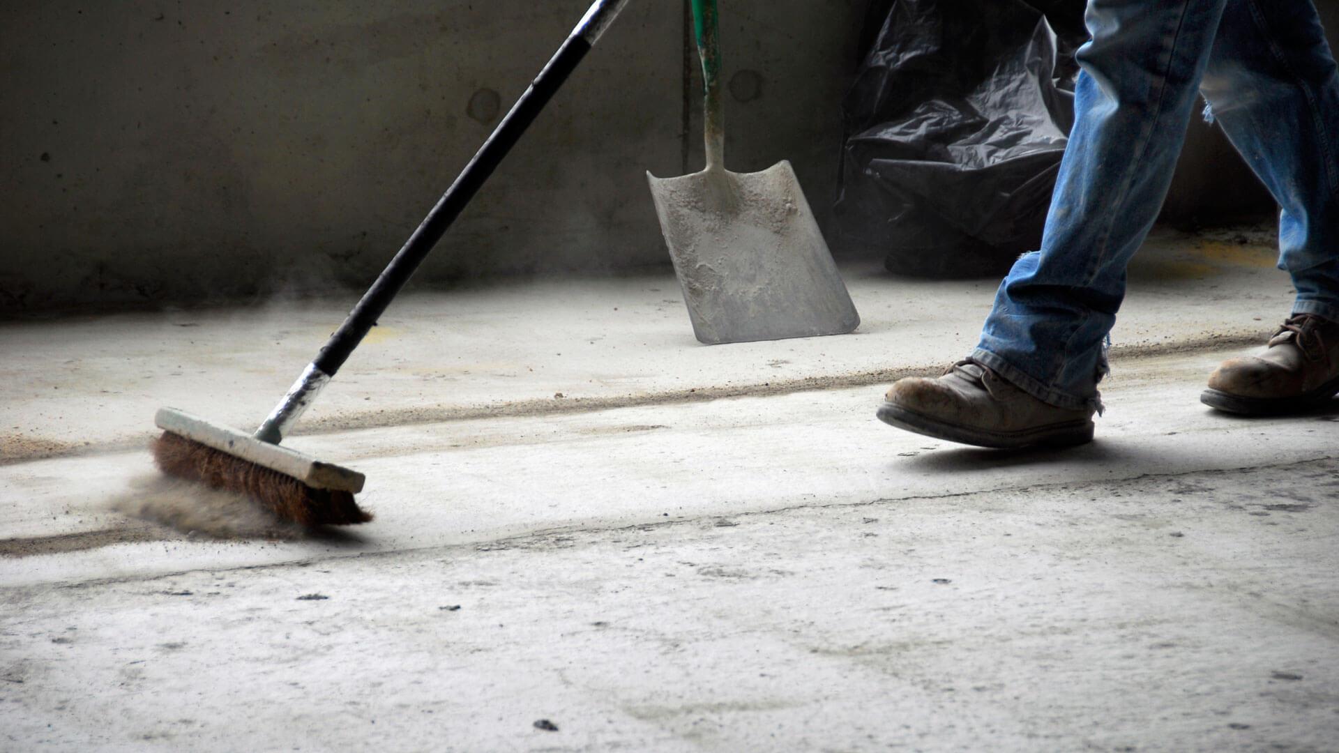 Eine professionelle Baureinigung nach Abschluss der Bauarbeiten
