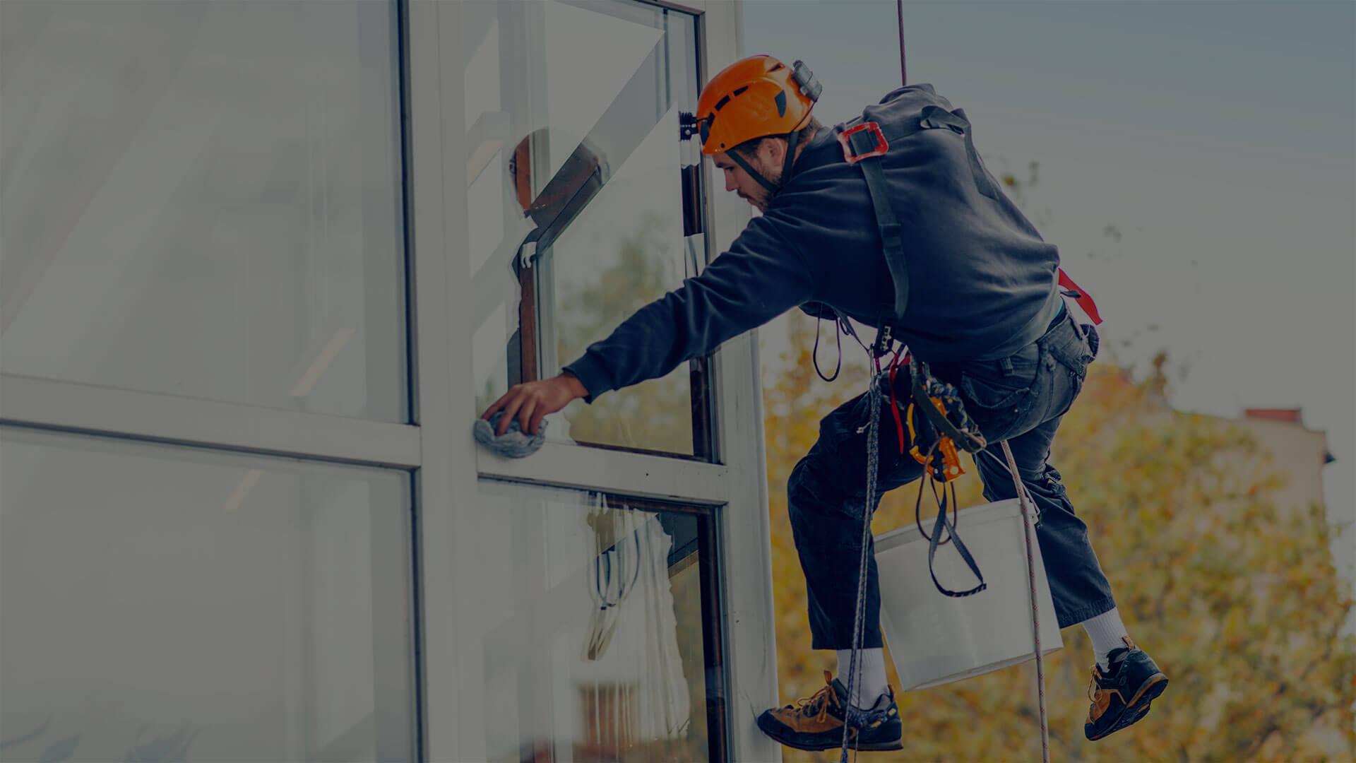 Glas- und Fassadenreinigung für Ihr Unternehmen