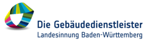 """Das Logo von """"Die Gebäudedienstleister"""" der Landesinnung Baden-Württemberg."""